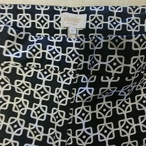 Laundry by Shelli Segal Printed Capri Pants